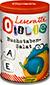 Leseratte Otilie –Buchstaben-Salat